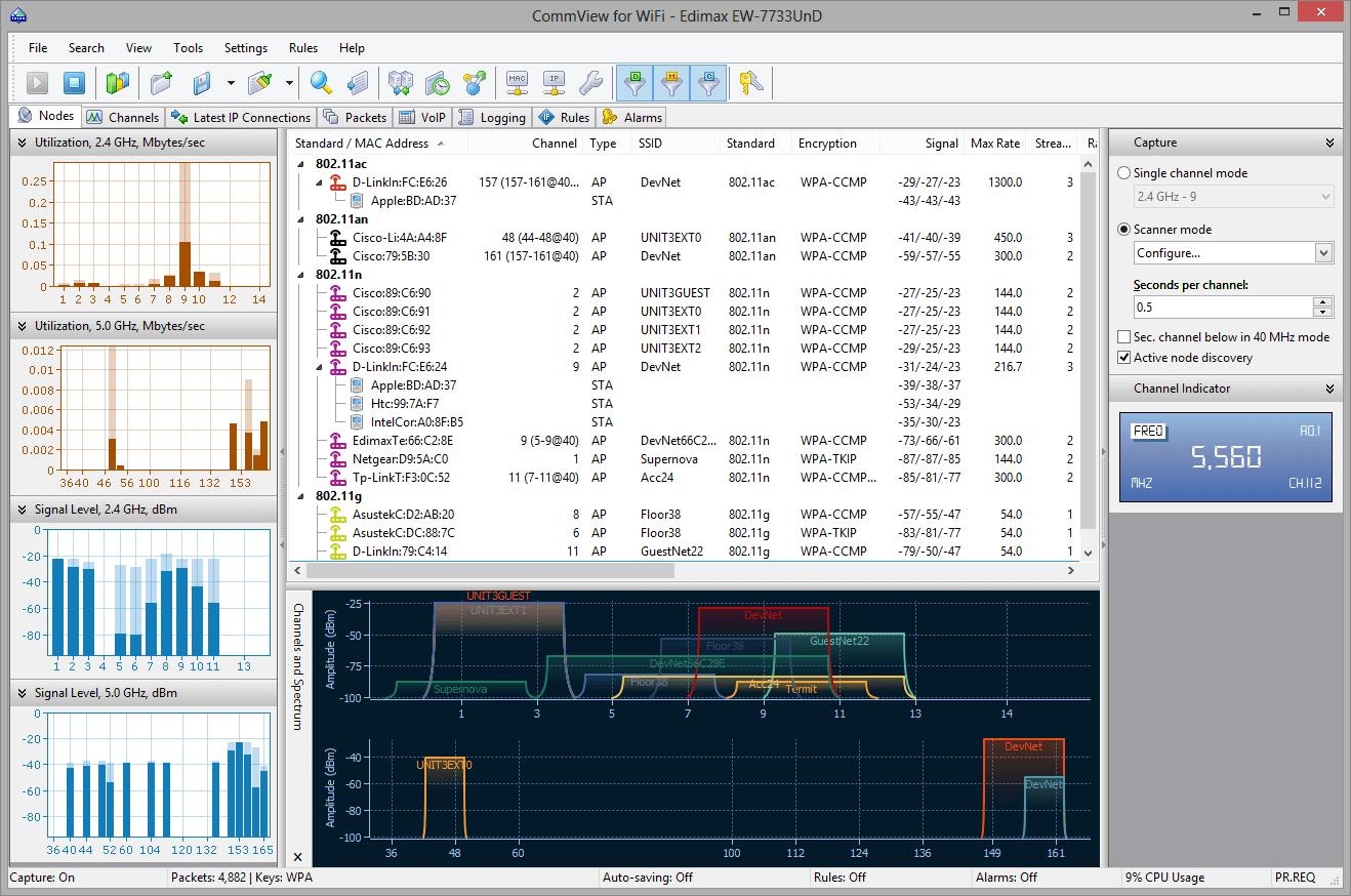 Скачать программу для мониторинга сети wifi