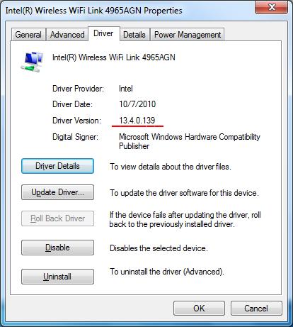 Сетевые драйвера для windows 7 intel