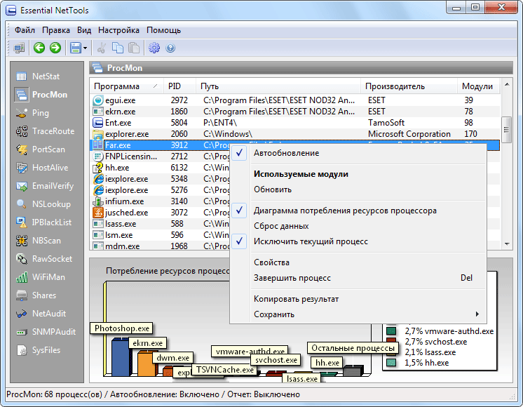 Essential NetTools 4.3 Build 266
